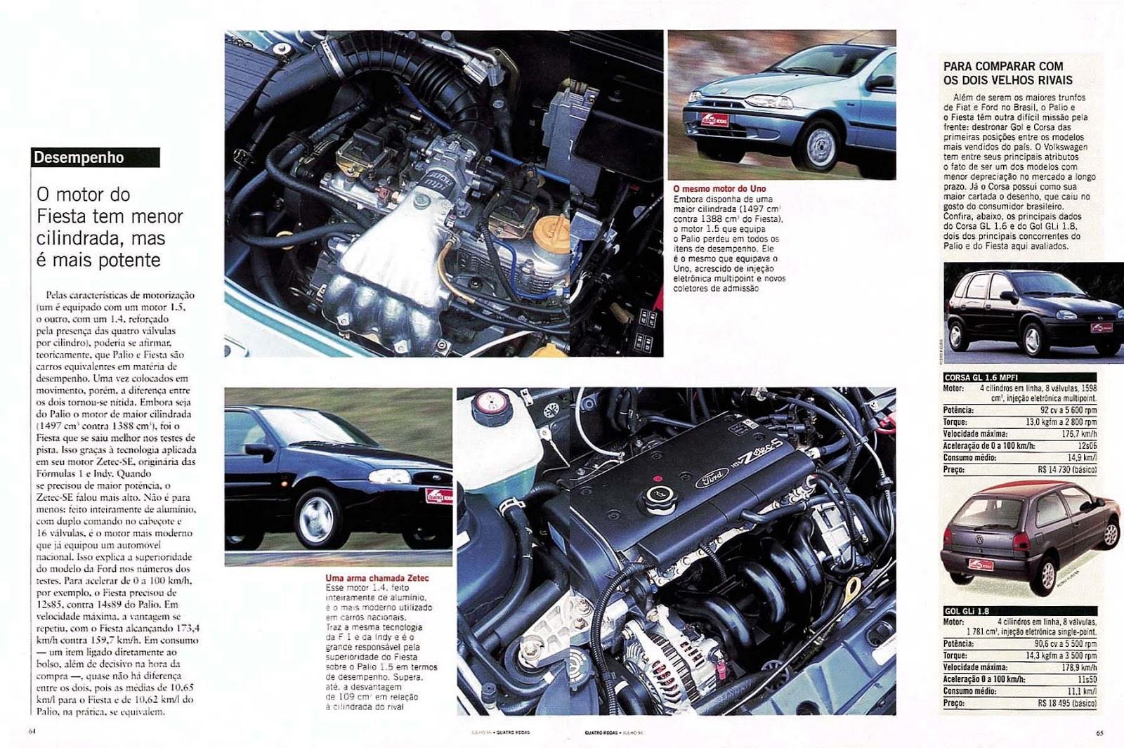 Quatro rodas turbo revista quatro rodas julho de 1996 edi o 432