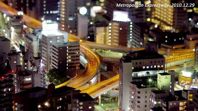 Time lapse di bandar Tokyo