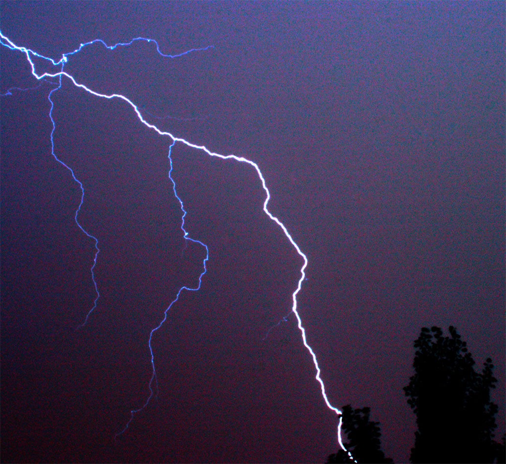 Lightning Colorado 12 July 2011 Third