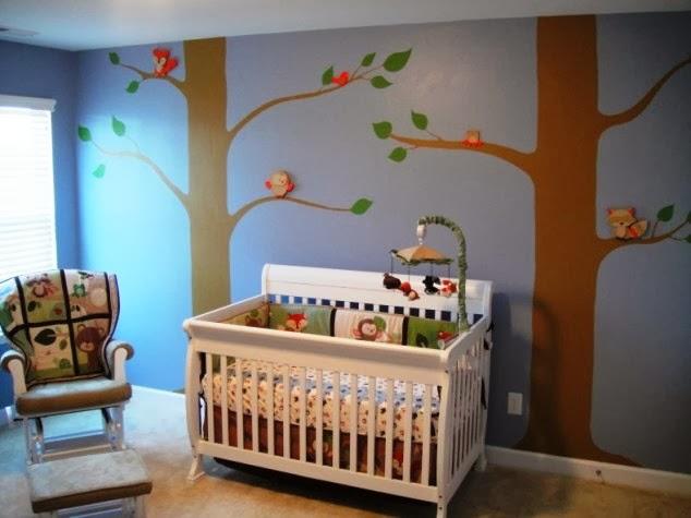 model tempat tidur bayi minimalis modern terbaru 2014