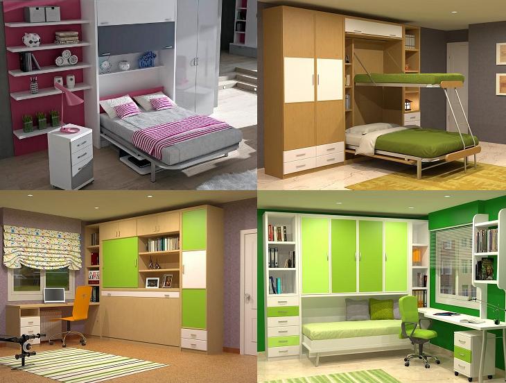 Cama mesa abatible camas autoportantes octubre 2013 - Habitaciones camas abatibles ...