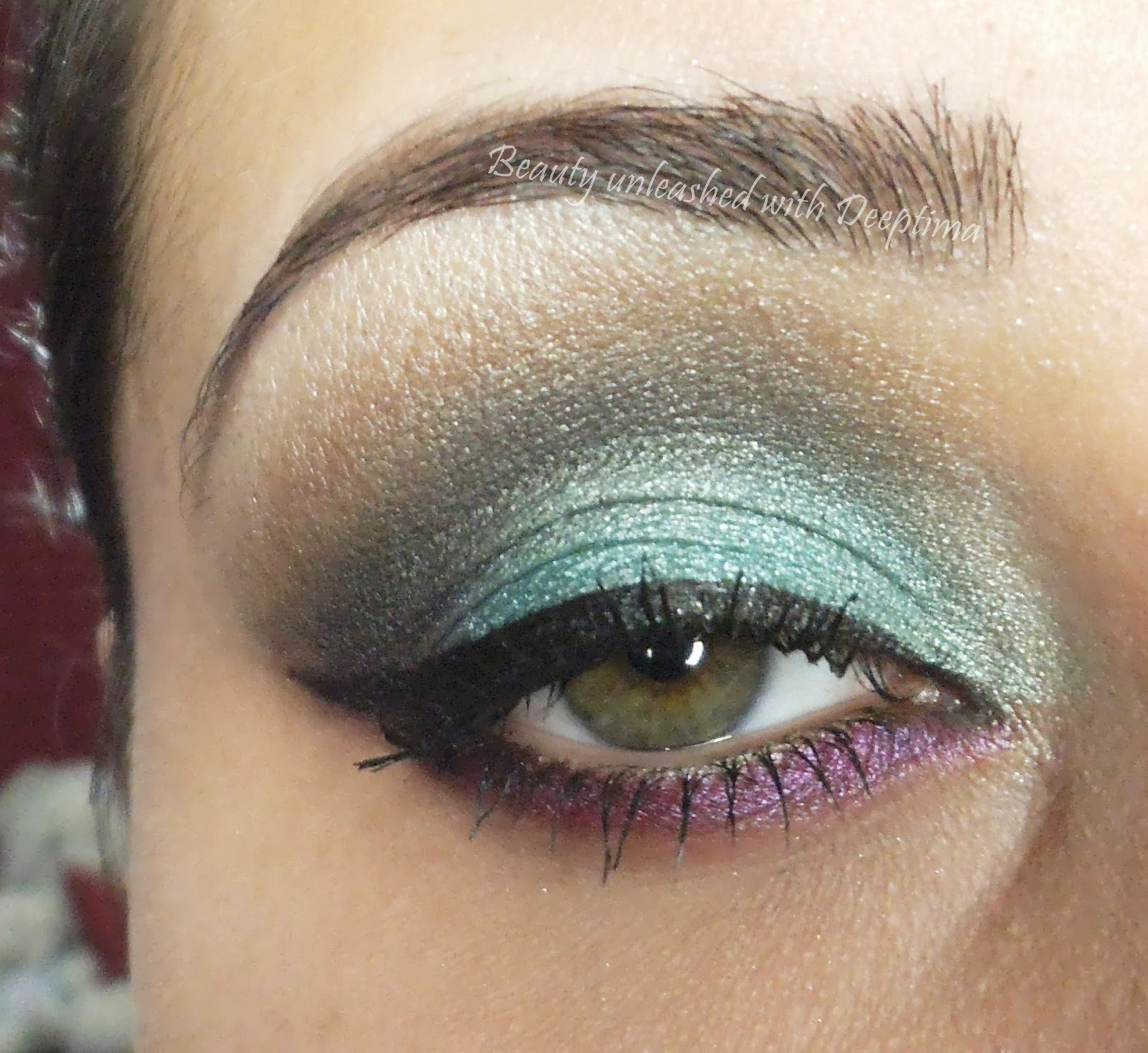 Simply Deeptima Beauty And Lifestyle Blog 30 Days Eye Makeup
