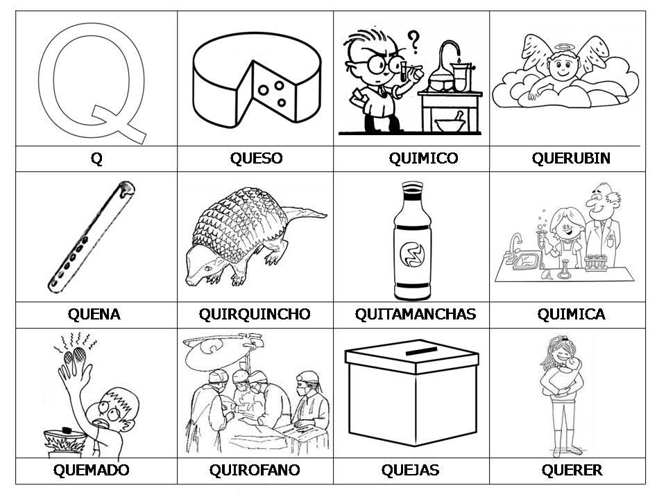 Combinaciones Entre Consonantes CDGKQWYZ  Lessons  Tes