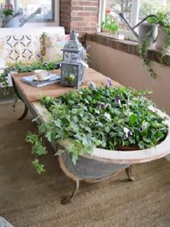 Ideas para Reciclar Bañeras, Maceteros y Muebles Reciclados, II Parte