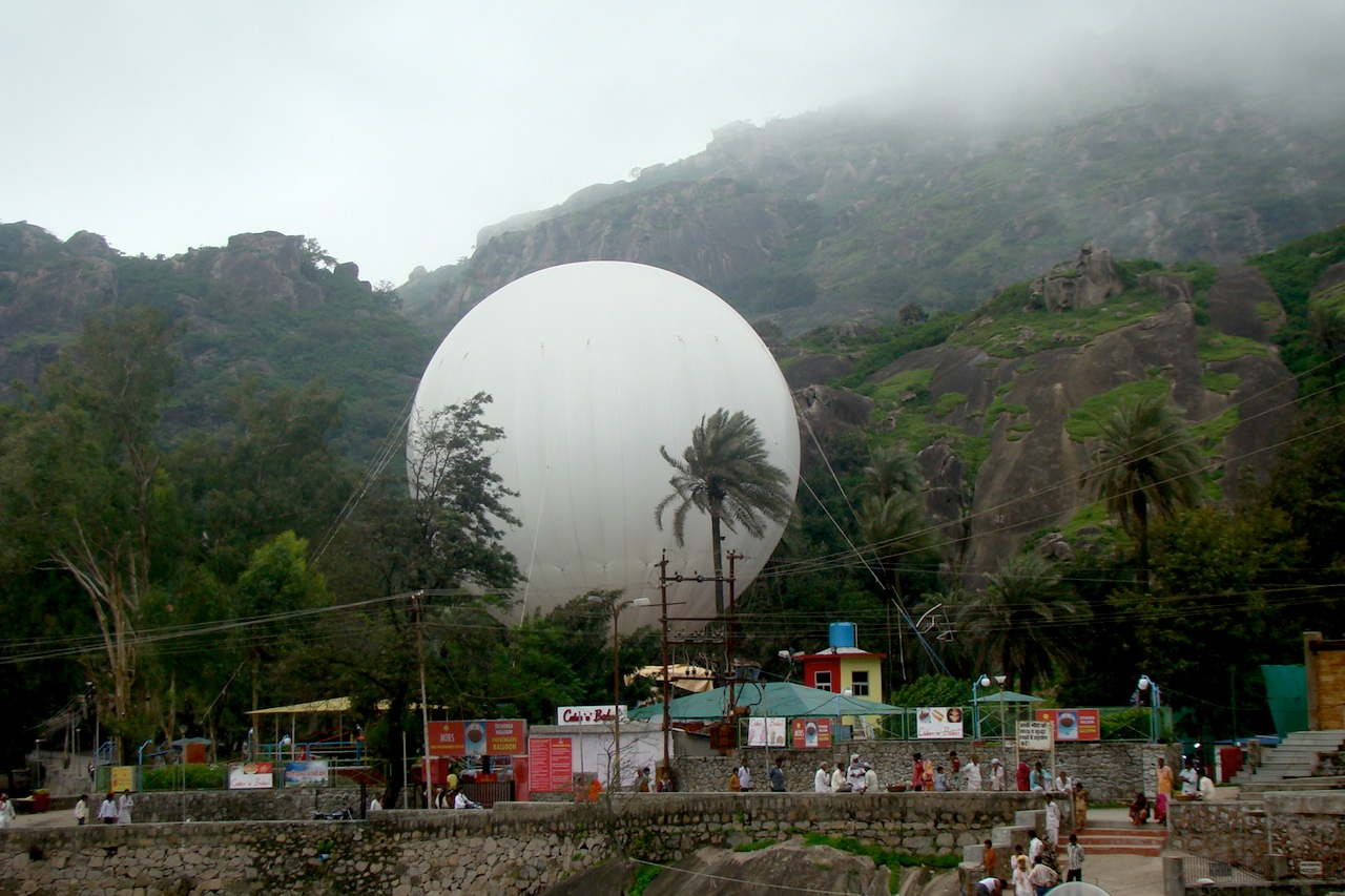 Mount Abu S New Tourist Attraction Helium Balloon