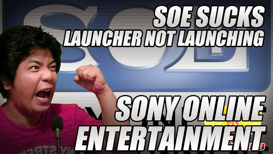 Sony Online Entertainment Sucks Right Now, Launchpad Not Launching