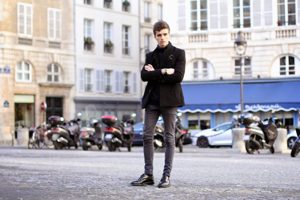 Ted-Baker-mouchoir-de-poche_Asos-skinny-jeans_Newlook-pull-col-roulé-church's-triplesole_blog-mode-homme-preppy-Paris-mensfashion3
