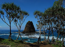 Indonesia Tourism Papuma Beach