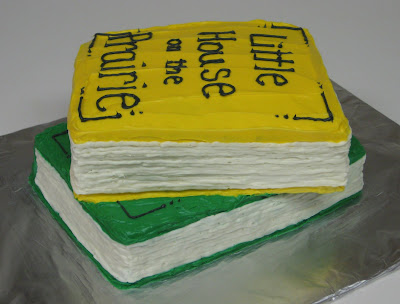 Stack of Books Cake - View 3