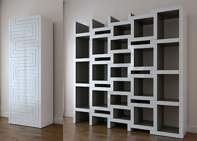Creative Bookshelves and Unusual Bookcases (15) 15