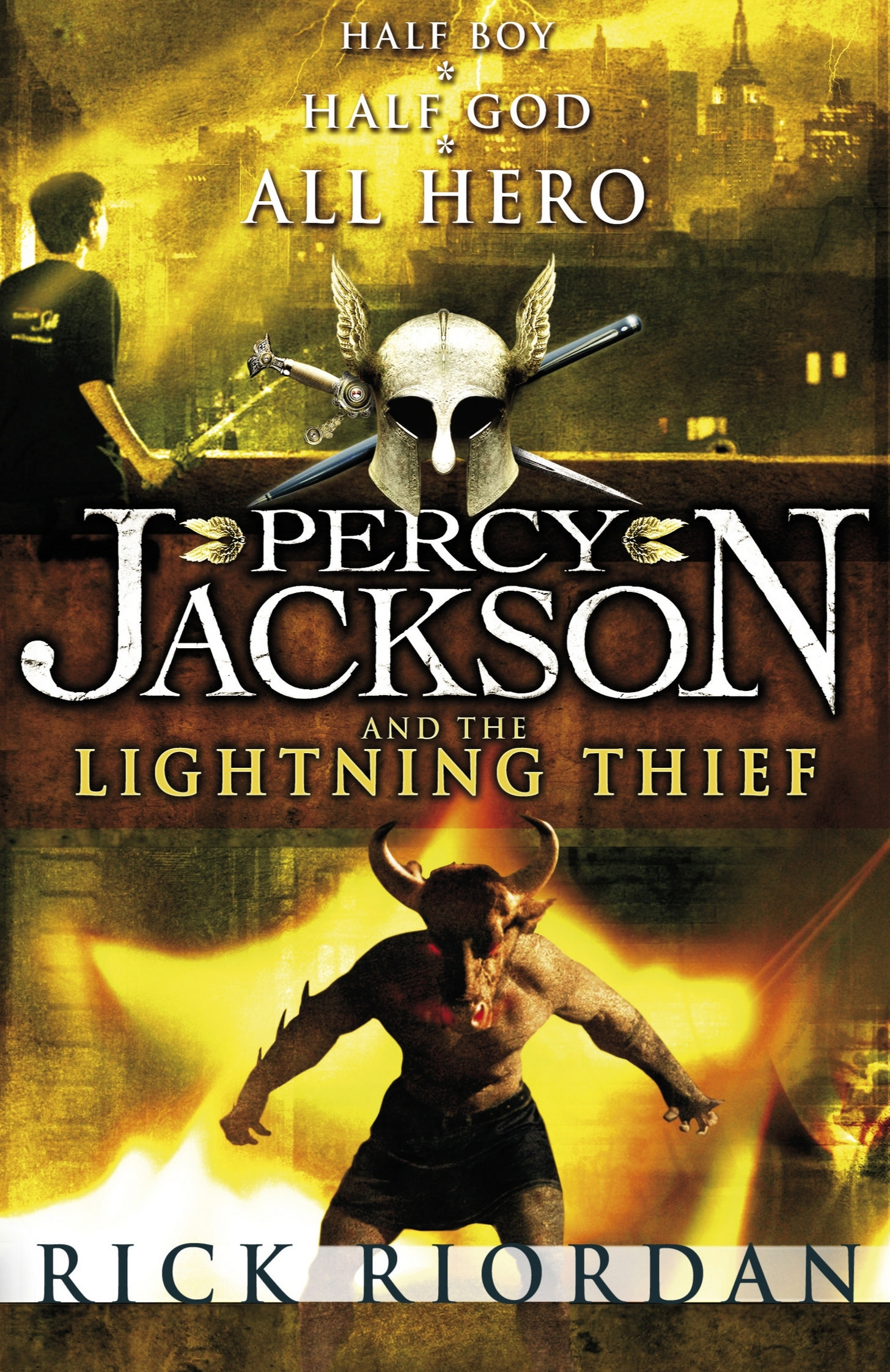 Gallery For Percy Jackson Lightning Thief Book Cover