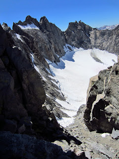 This is what the Northwest Face descent looks like.