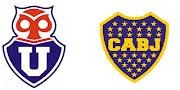Hoje à noite, a partir das 21h15m, Universidad de Chile x Boca Juniors .