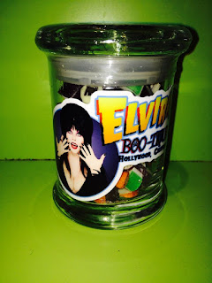 Elvira Collectible Sticky Jar from Sweets! Hollywood