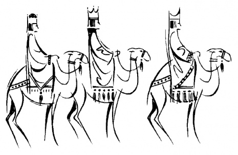 Three Kings Day Coloring Pages - Los Tres Reyes Magos : Let's ...