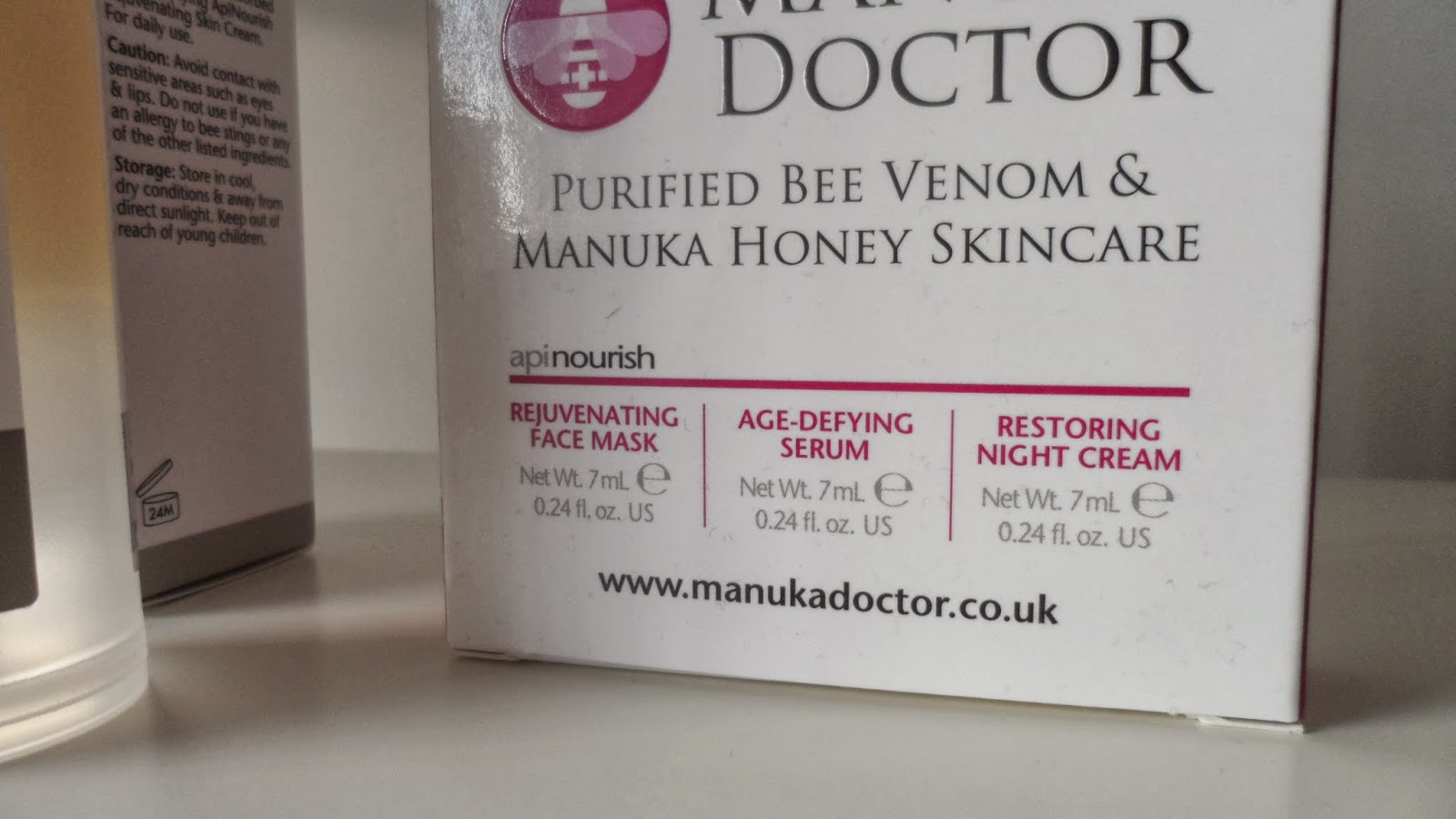 Manuka doctor apinourish trial set of 3