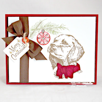 Stamps - North Coast Creations Santa Paws, Holly Jolly Christmas, ODBD Custom Recipe Card and Tags Die