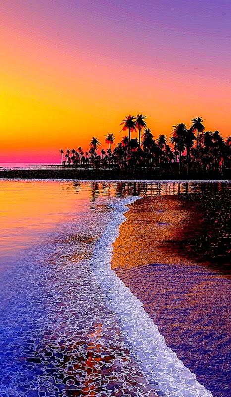 Iphone Beach Sunset Wallpapers Hd