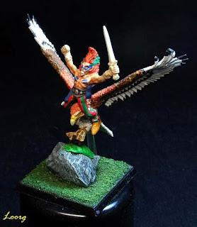 El jinete del águila de Mike McVey