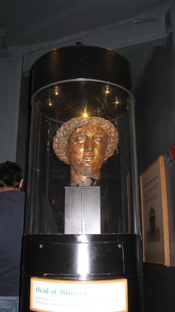 Богиня Сулис Минерва, римские термы, Бат