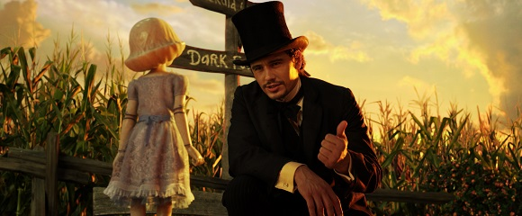James Franco em OZ: MÁGICO E PODEROSO (Oz the Great and Powerful)