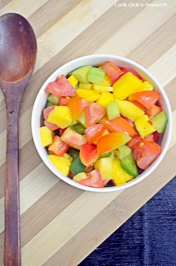 mango salsa recipe   how to make mango salsa