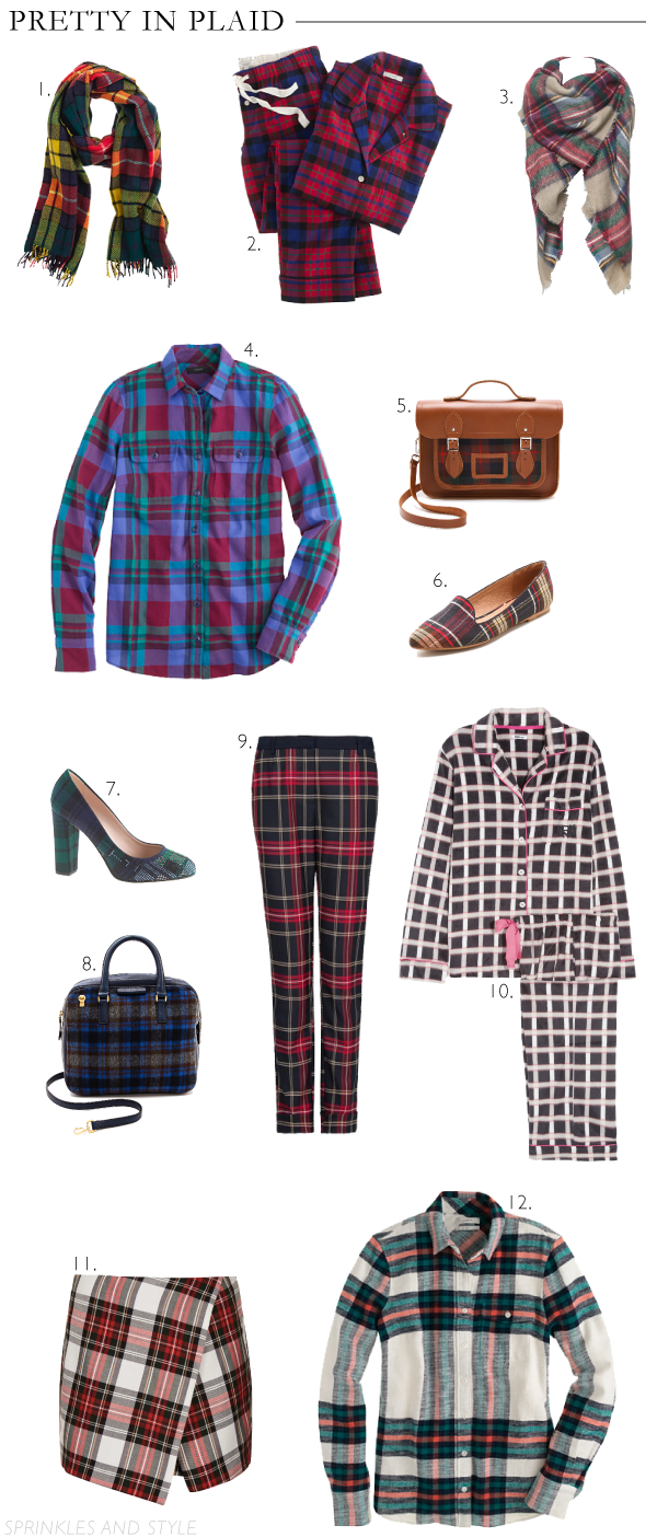 Sprinkles and Style || Pretty in Plaid
