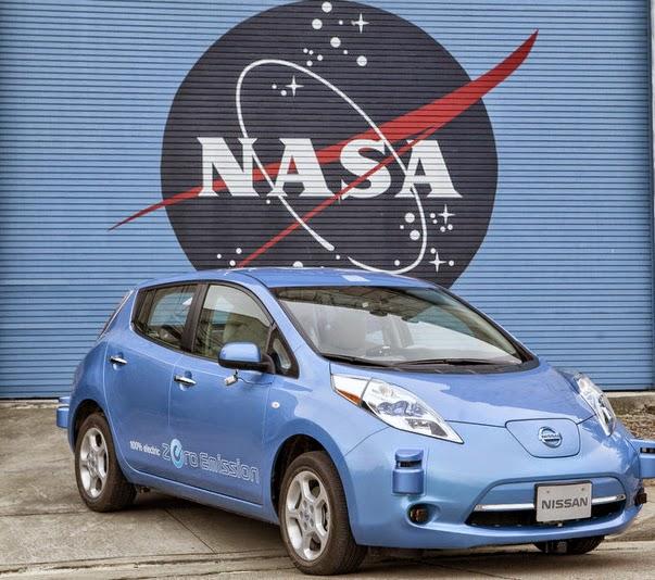 Twisted Nonsense Nissan NASA driverless autonomous self-driving car