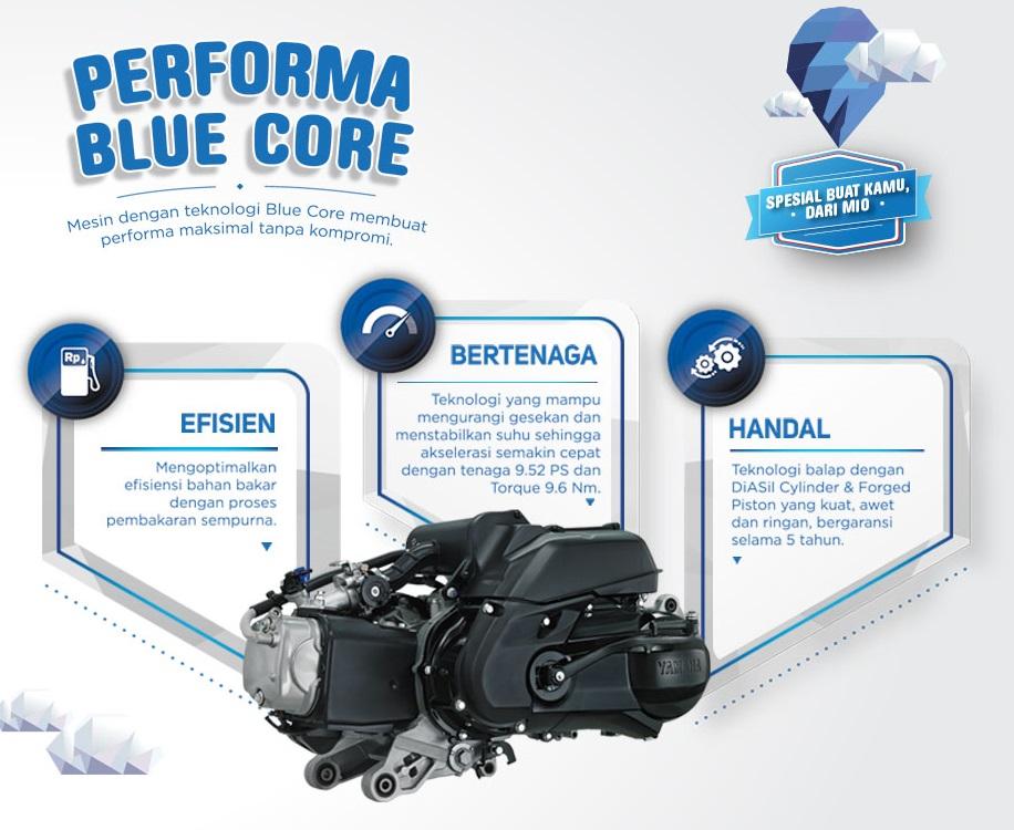 Yamaha Indonesia resmi merilis New Mio 125 M3 . . . berteknologi Blue Core