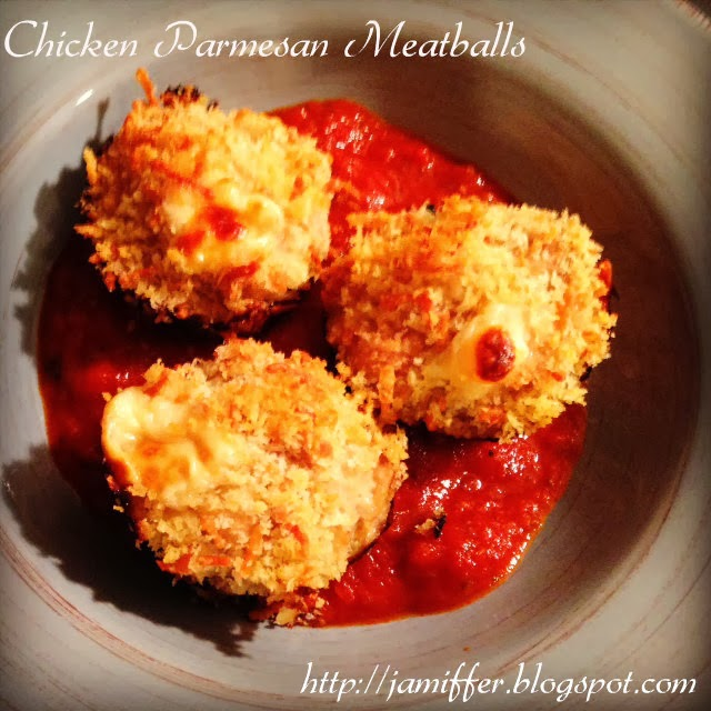 Going the Distance: Chicken Parmesan Meatballs Recipe