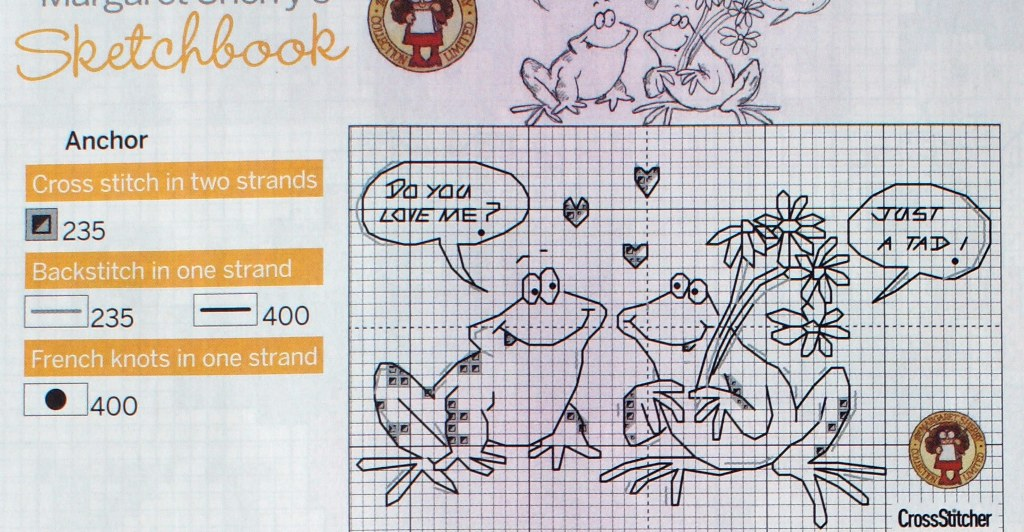 Схема вышивки маргарет шерри кот