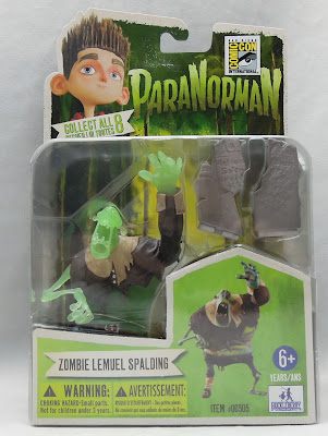 Zombie Lemuel A good look at the Paranorman figures