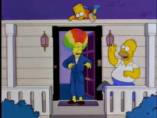 El Mal Vecino, Homero y Bush, Homero contra Bush, Bush y Homero