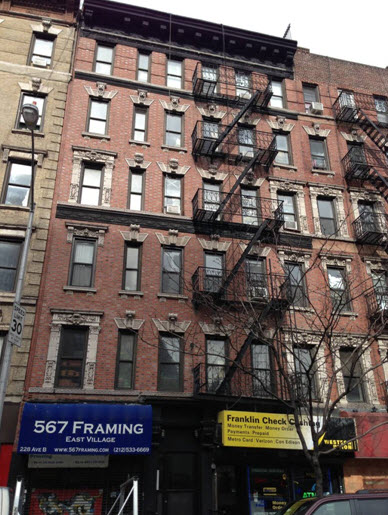 EV Grieve: Another East Village walk-up apartment building is on the ...