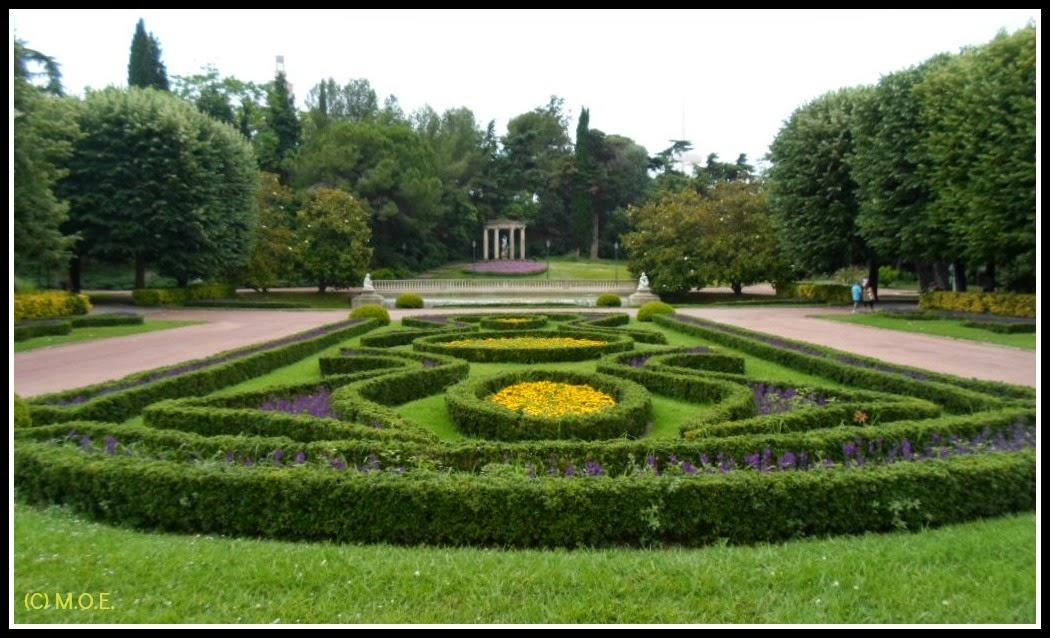 A las andadas jardines de joan maragall parque de montju c - Jardines de montjuic ...