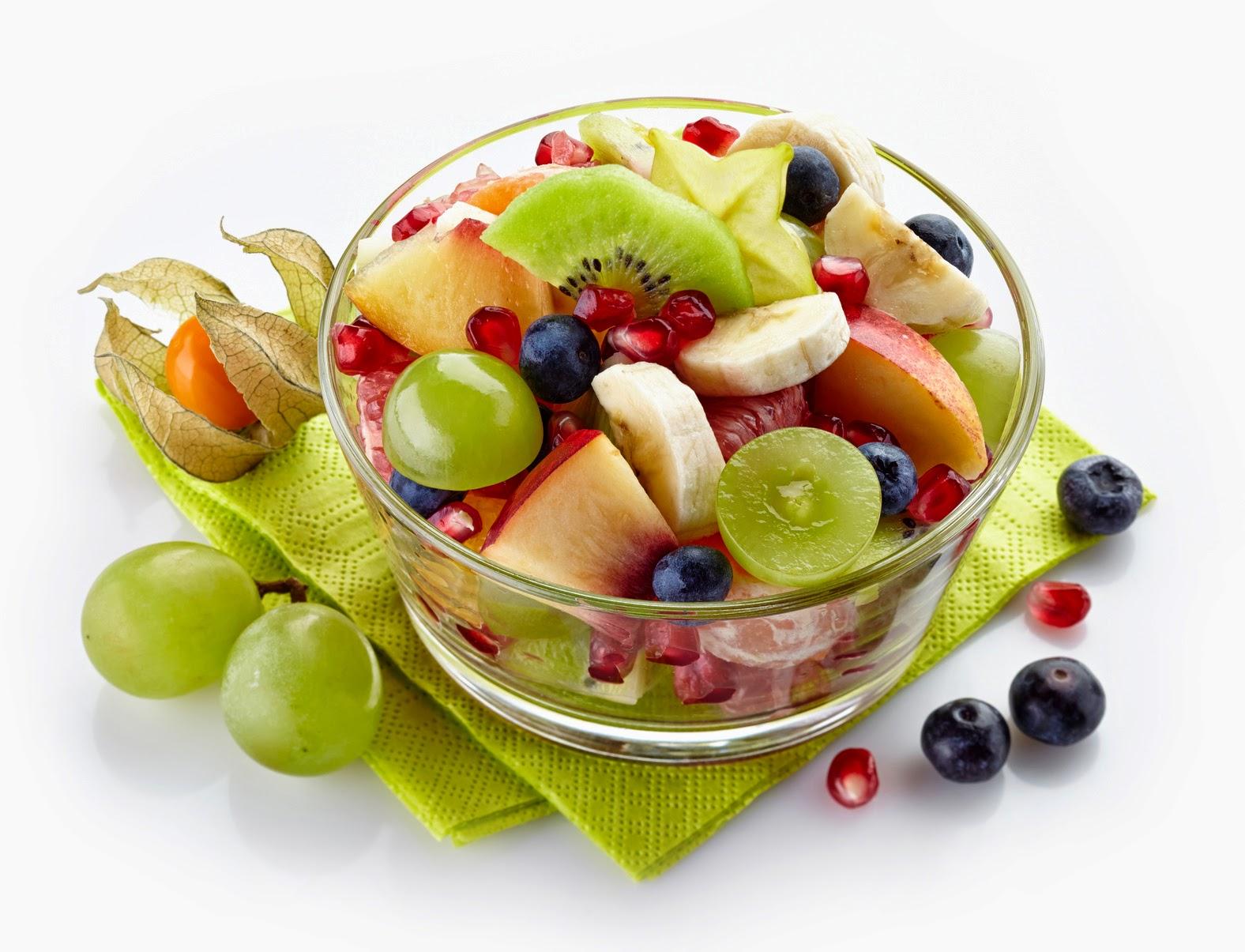 Recetas para adelgazar: ensalada de frutas