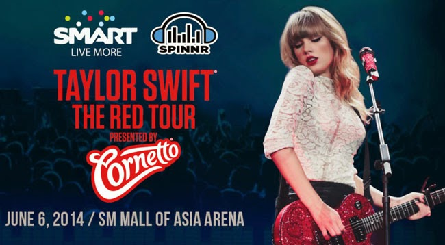 Taylor Swift Red Tour Manila Philippines Updates