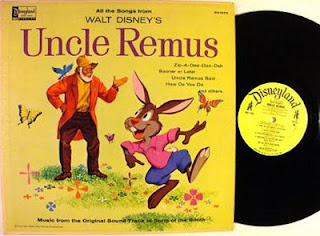 Capa do disco Walt Disney's Uncle Remus