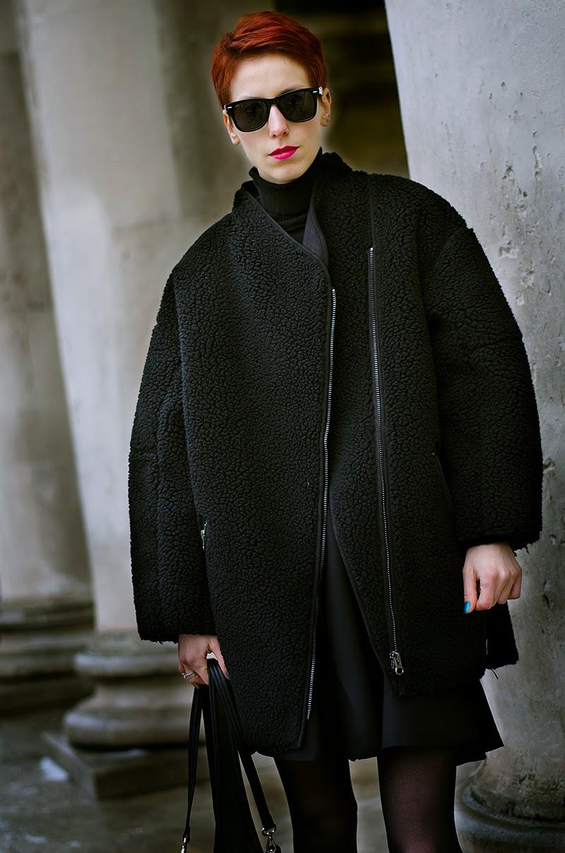teddy coat h&m trend beeswonderland
