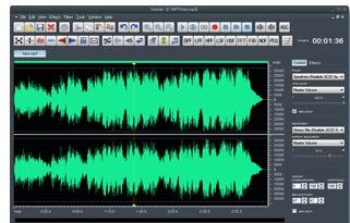 برنامج dexster audio editor