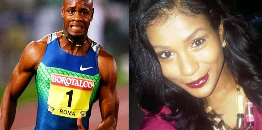 Jamaican Sprinter Asafa Powell and Amita Webb Welcomes New ...