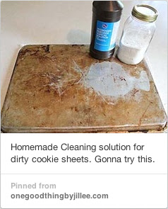 Cookie Sheet Cleaner Recipe from One Good Thing by Jillee