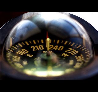 Photo of a compass.  The heuristics that I present in this articles will be like a compass for my future enterprise architecture exercises, guiding me in what to focus on.