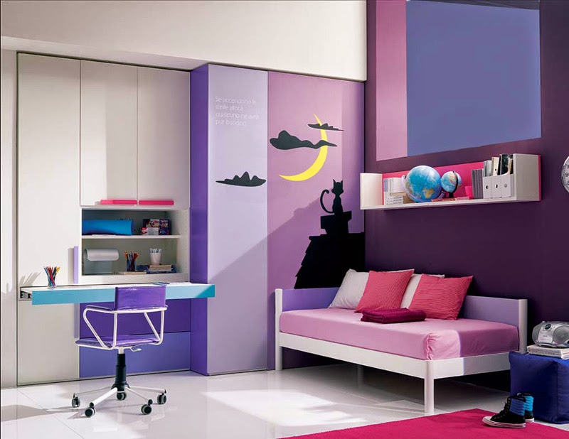 girls bedroom decor design ideas