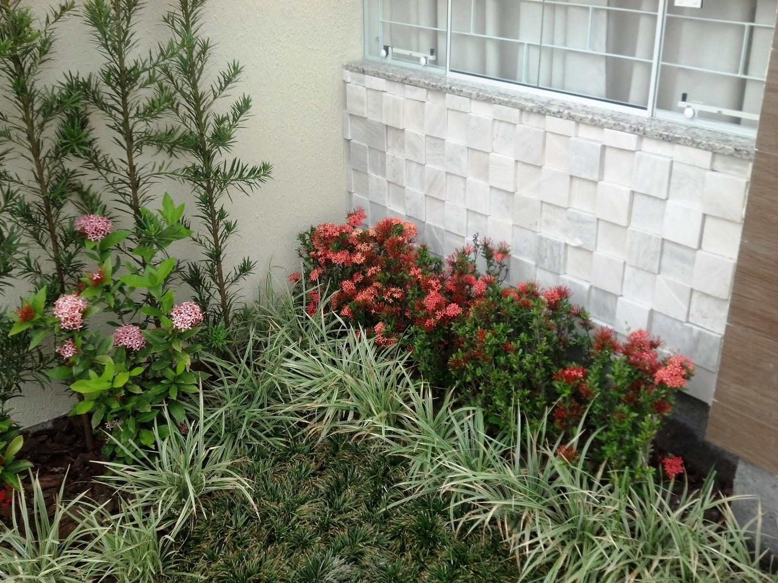Pedras e Jardins: Acabamentos externos!