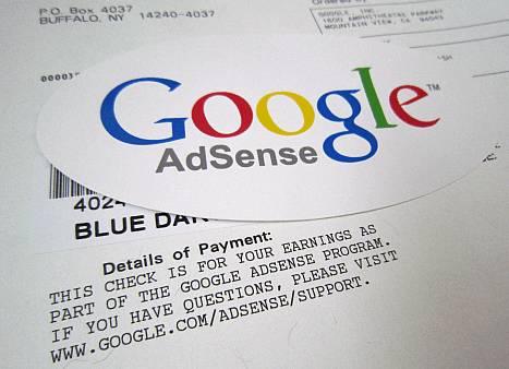 Một số mẫu thư từ chối của Google Adsense