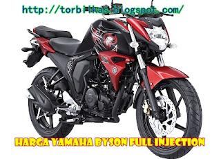 Harga Yamaha Byson Full Injection (FI) Bekas dan Baru
