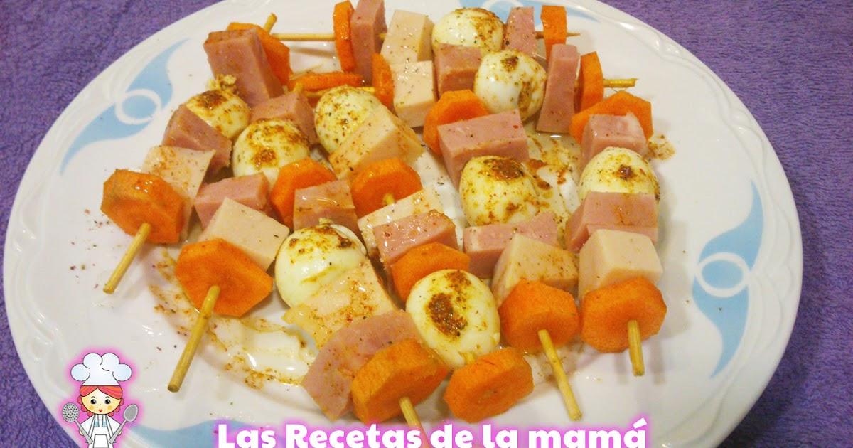 Las recetas de la mam receta de pinchos de huevos de - Superchef cf100 ...
