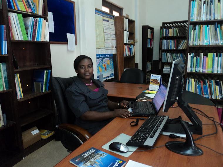 Emelia @ her Desk