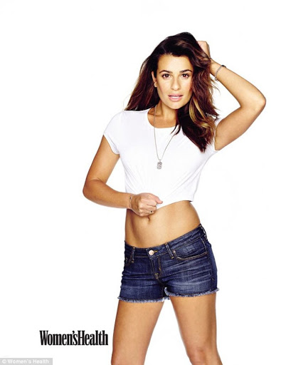 Lea Michele Womens Health Magazine November 2015 photos